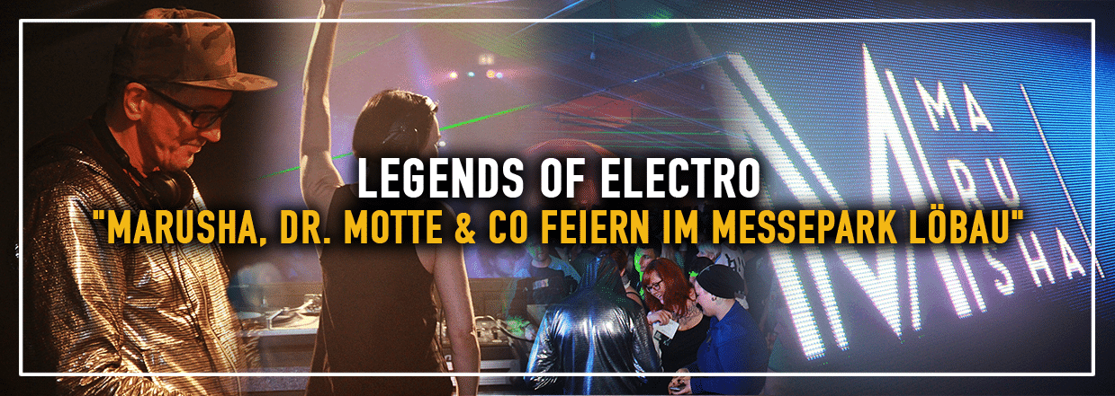 Legends of Electro im Messepark Löbau