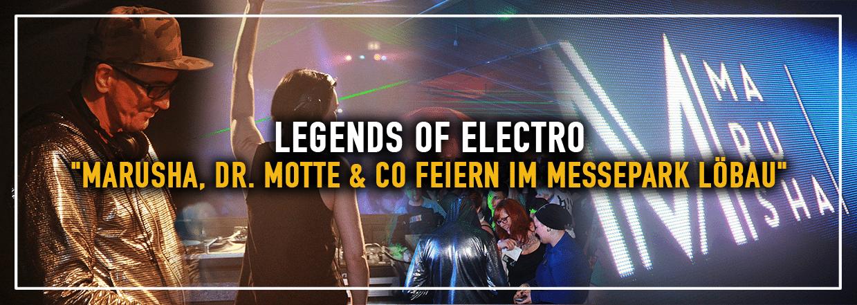 Legends of Electro im Messepark Löbau