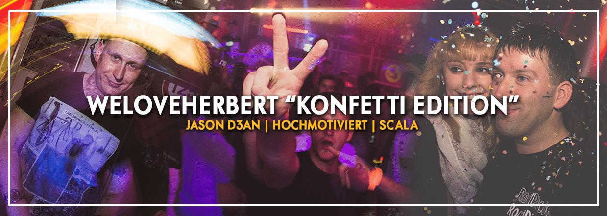 """WeLoveHerbert """"Konfetti Edition"""""""