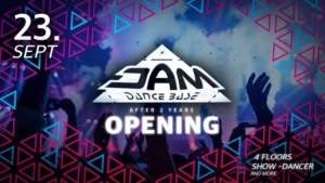 OPENING 23.9. - JAM DANCEBASE • after two years • @ JAM DANCEBASE | Zittau | Germany