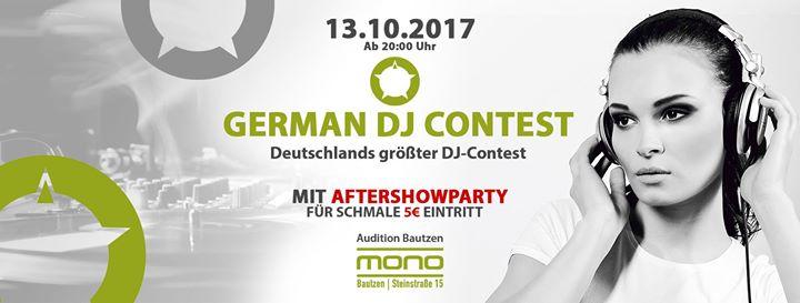German DJ Contest • Ab 20 Uhr • Mono Bautzen