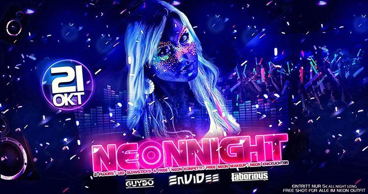 NEON NIGHT • Envidee / Guydo / Laborious • 2 floors • specials