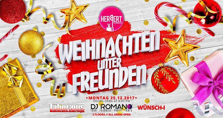 Weihnachten unter Freunden • Montag 25.Dezember • 2 floors