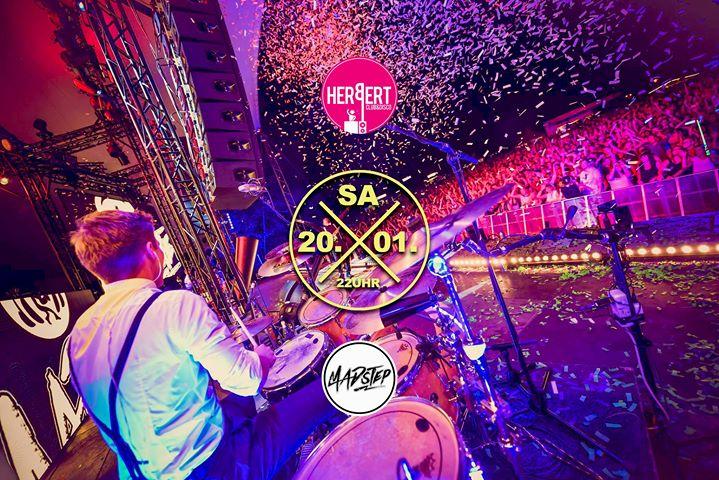 Madstep -live- • Herbert • Sa/20/01/18 • 2 floors