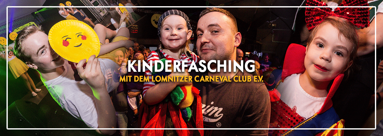 Kinderfasching mit dem Lomnitzer Carnevalsclub e.V.