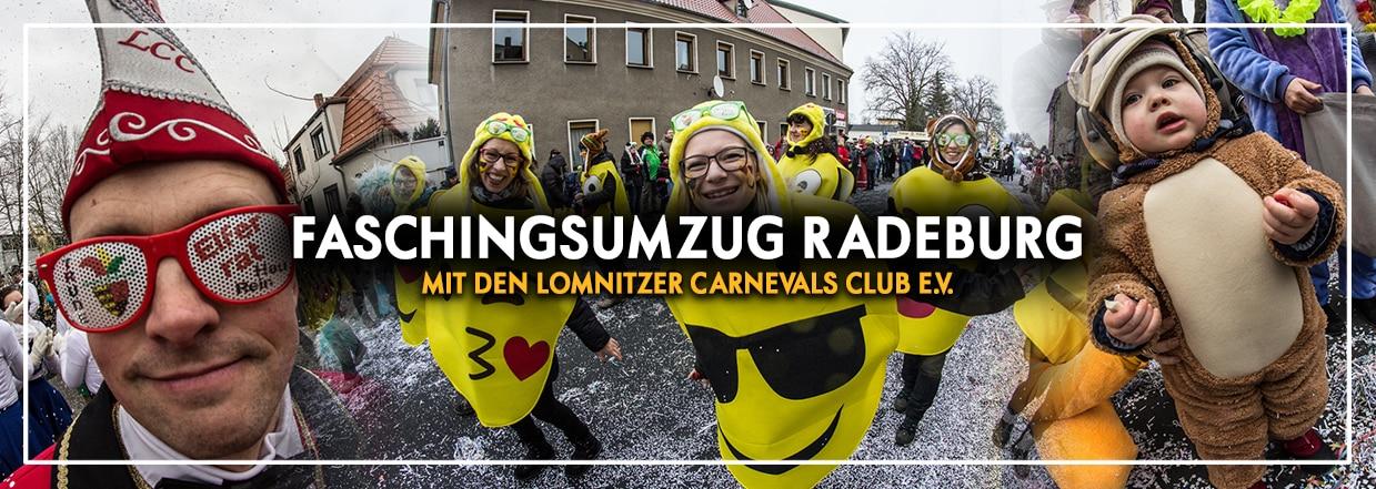 Faschingsumzug mit dem LCC in Radeburg!