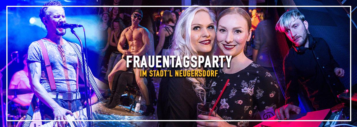 Frauentagsparty im neuen Stadt'l Neugersdorf