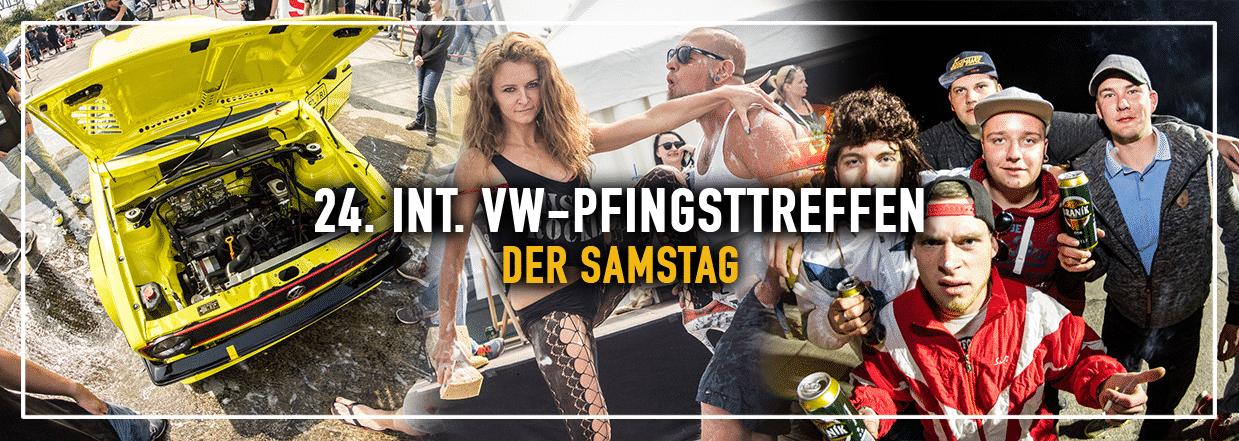 Der Samstag – 24. Int VW-Pfingsttreffen in Bautzen