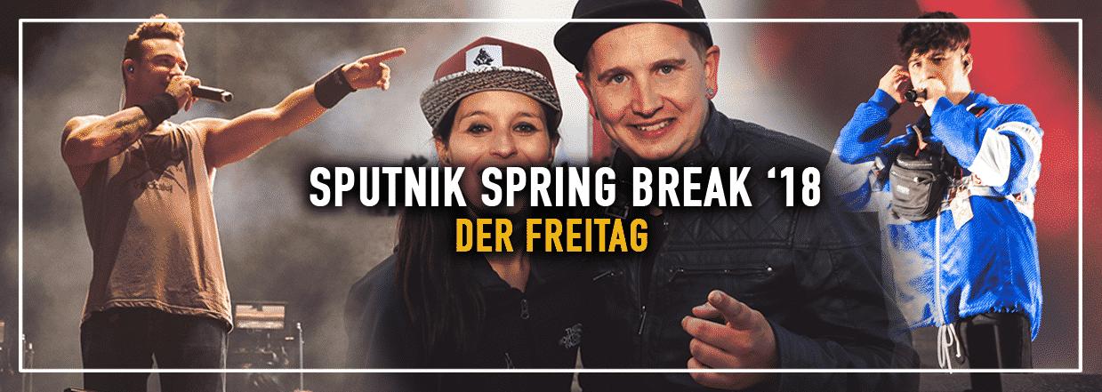 Sputnik Spring Break '18 – Der Freitag in Bildern