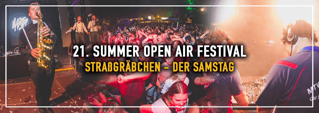 21. SUMMER OPEN AIR FESTIVAL – STRAßGRÄBCHEN