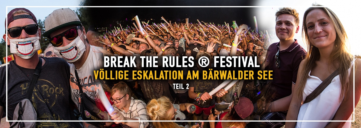 BREAK the RULES ® – Das Festival 2018