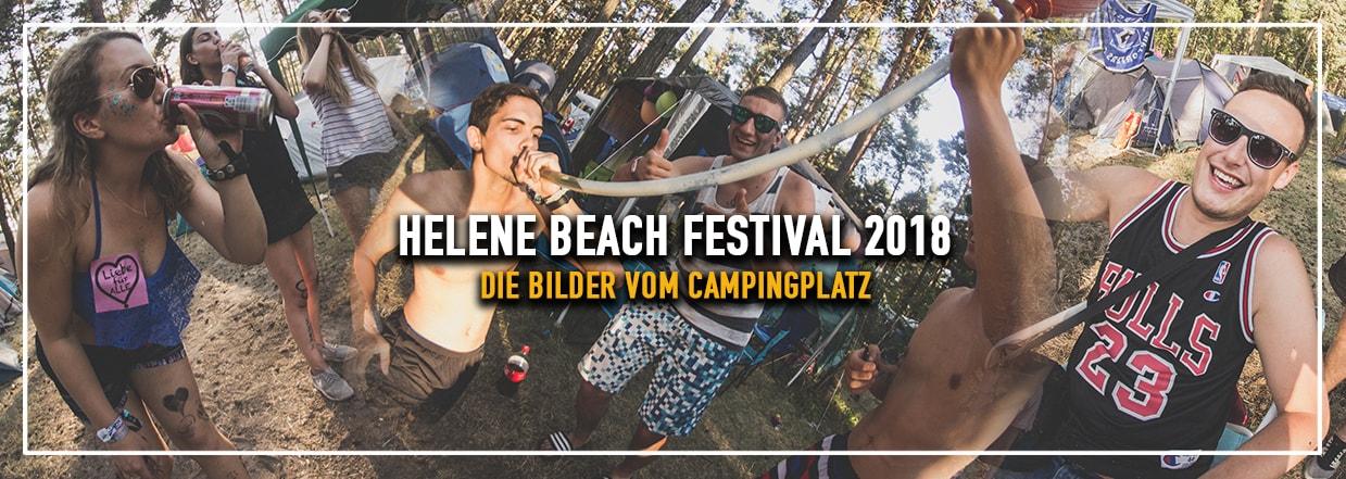 Helene Beach Festival 2018 – Campingplatz