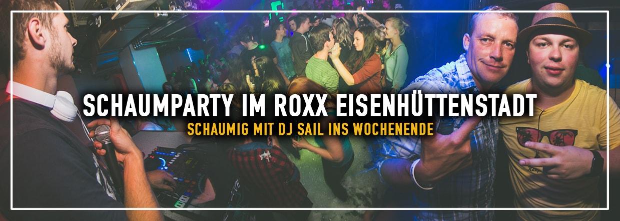 1. Schaumparty im Roxx Eisenhüttenstadt