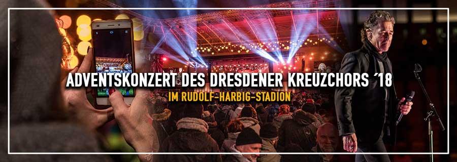 Adventskonzert 2018 im Rudolf-Harbig-Stadion