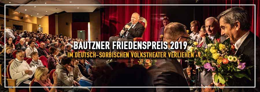 Bautzner Friedenspreis 2019 im Theater verliehen!