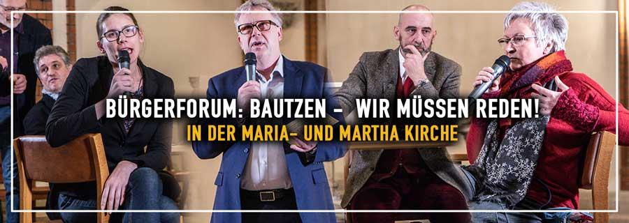 Bürgerforum: Bautzen – wir müssen reden!
