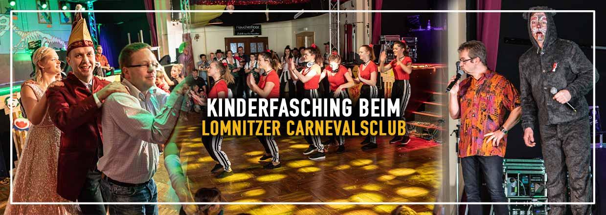 Kinderfasching des Lomnitzer Carnevals Club 2019!