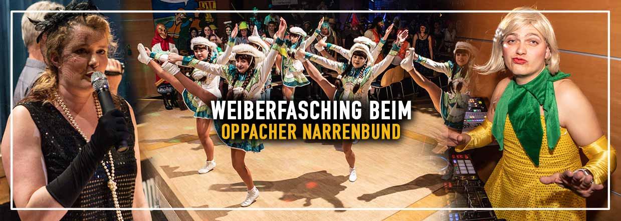 Oppacher Narrenbund feiert Weiberfasching!