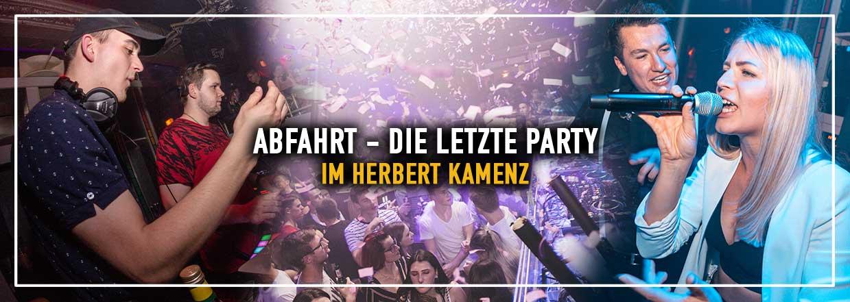 ABFAHRT! – Die letzte Party im Herbert Kamenz!