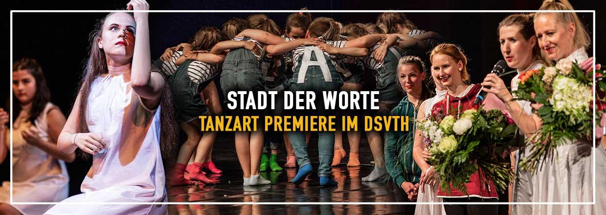 Stadt der Worte von TanzART feiert Premiere!