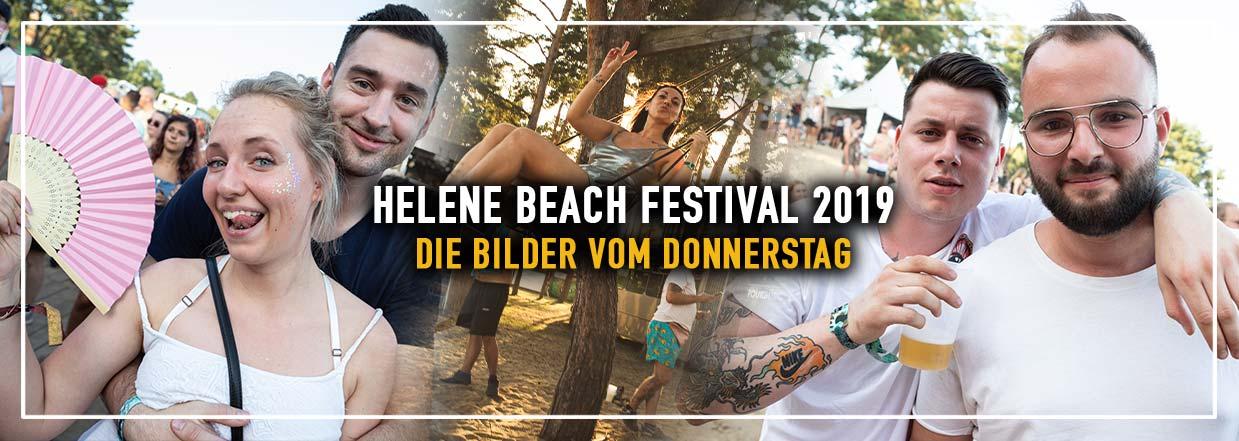 Helene Beach Festival 2019 – Bilder vom Donnerstag
