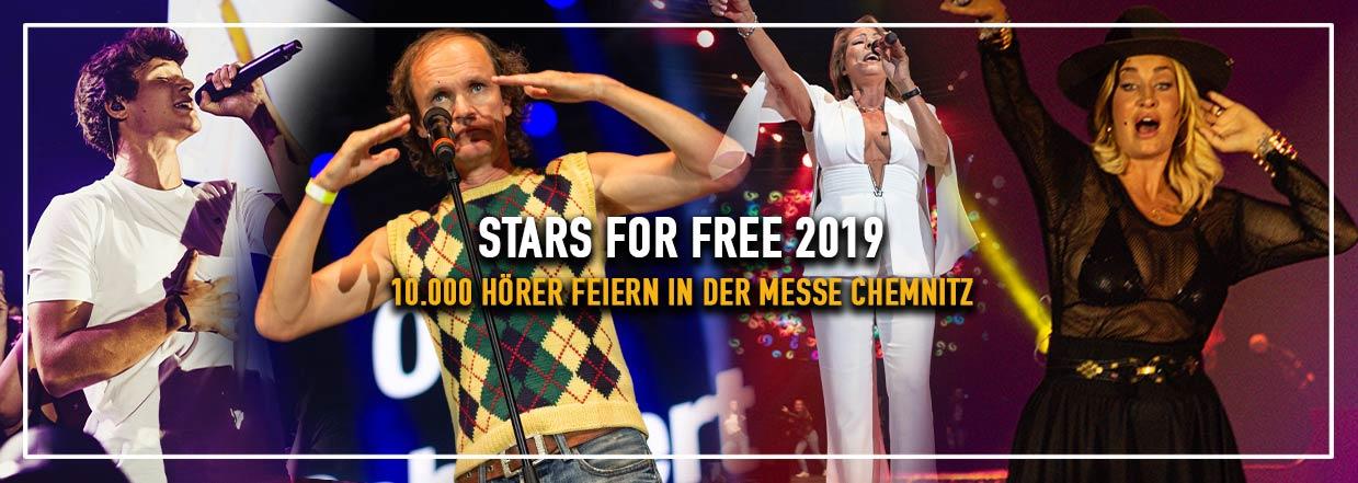 Stars for Free 2019 in Chemnitz!