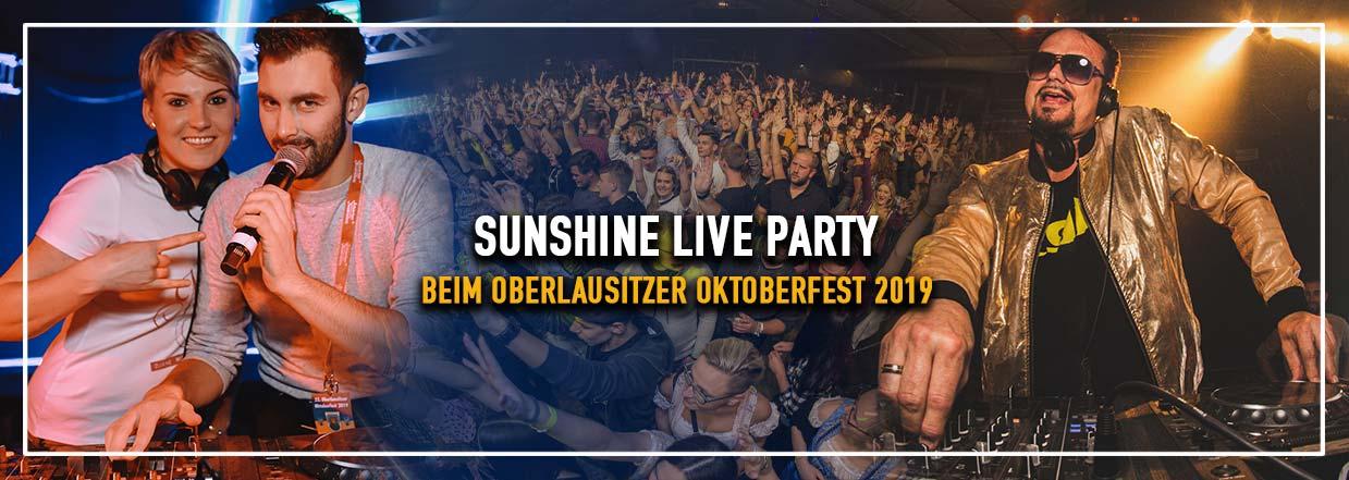 Sunshine Live Party beim Oberlausitzer Oktoberfest 2019!